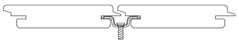 perfil de fabricación de tarima con grapa aoculta