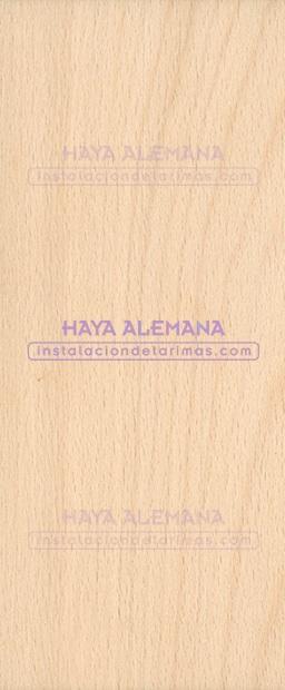 foto de madera con las denominaciones de la madera de haya alemana