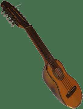 Charango-instrumento musical de madera de cedro