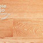 EL roble rojo americano es una madera de poro abierto