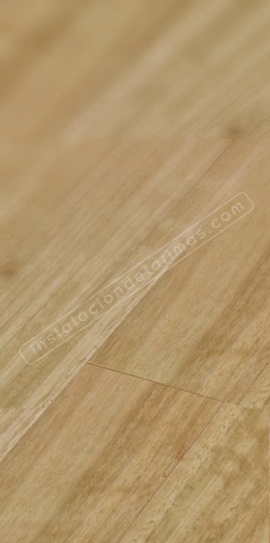 foto de suelo de tarima de eucalipto