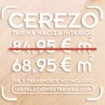 oferta de tarima de cerezo selecto libre de albura por una cara de 80 ancho por 21 de espesor