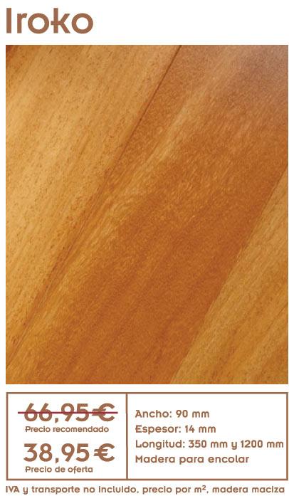 Oferta de tarima de iroko archivos ofertas de tarima - Precio tarima madera ...