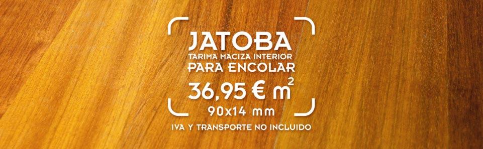 precio de tarima para suelos de interior de jatoba con el texto jatoba para encolar en interiores