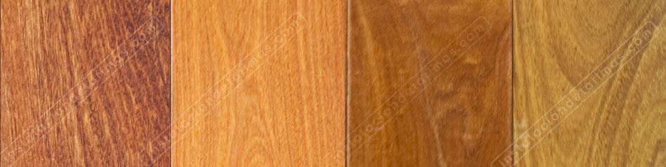fotos de madera de ipe donde se aprecian los distintos colores de la tarima