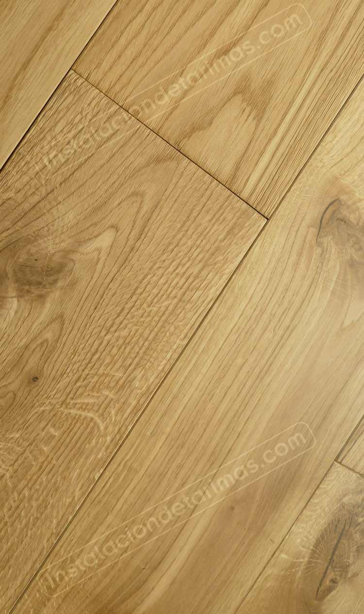Tarima pegada después secar el suelo al 2% de humedad
