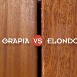 Comparativa de elondo versus teca (grapia)