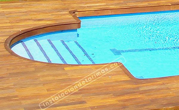 Tarima exterior para piscinas archivos ofertas de tarima Piscina interior precio