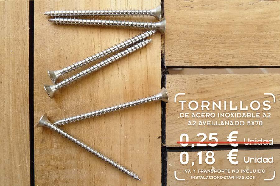 Foto de tornillo de acero inoxidable para madera de las for Tornillos acero inoxidable