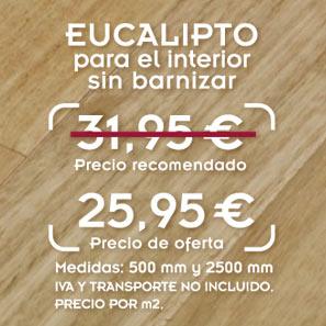liquidación de tarima de eucalipto con precio