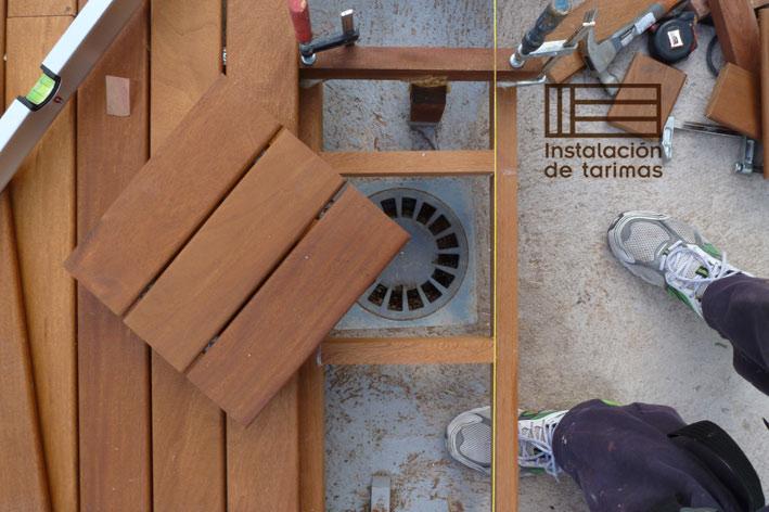 la mejor madera exterior por su relación calidad precio es la grapia