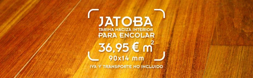 Oferta de instalación de tarima de Jatoba para interior para encolar